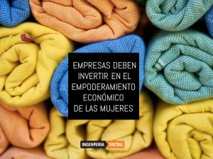 Empoderamiento económico de las mujeres