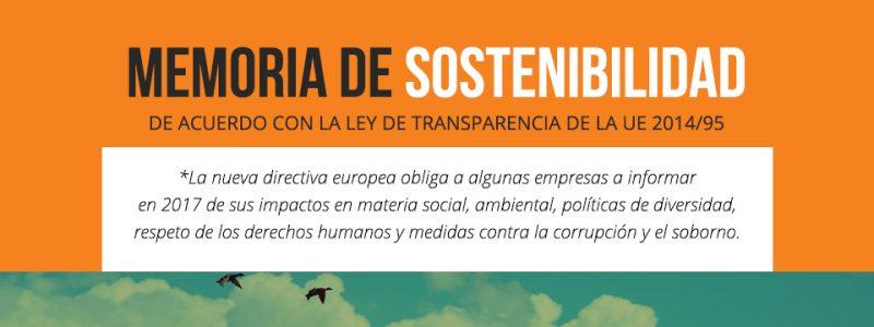Memoria de sostenibilidad