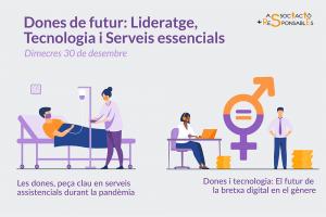 Dones de futur: Lideratge, Tecnologia i Serveis essencials