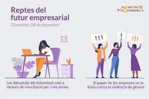 Webinar: Reptes del futur empresarial de les dones