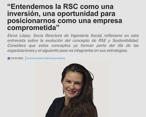evolución del concepto de RSE y Sostenibilidad